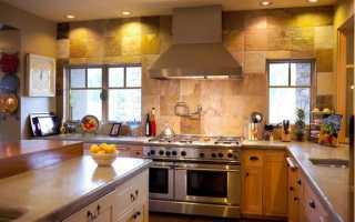 Отделочные материалы для кухни стены