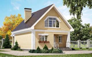 Проект домов с мансардой и гаражом