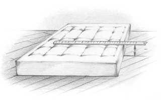 Как выбрать высоту матраса для кровати?