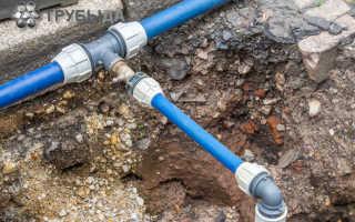 Как соединять пластиковые водопроводные трубы