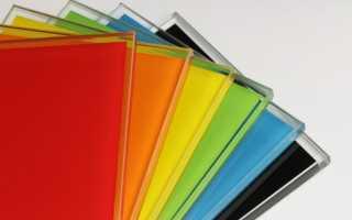 Как покрасить стекло в домашних условиях