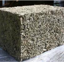 Что такое арболит основная характеристика этого материала