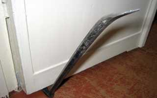 Как смонтировать входную железную дверь?