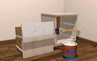Чем покрасить стенку мебельную из ДСП?