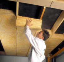 Какой плотности утеплитель должен быть для потолка?