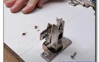 Как починить крепление на мебели?