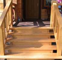 Как построить ступеньки к крыльцу из дерева?