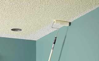 Побелка потолка своими руками водоэмульсионной краской