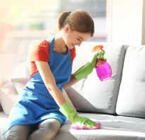 Как убрать пятно крови с дивана?
