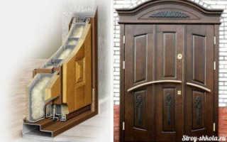 Как правильно утеплить железную входную дверь?