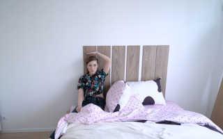 Как сделать мягкую спинку для кровати?